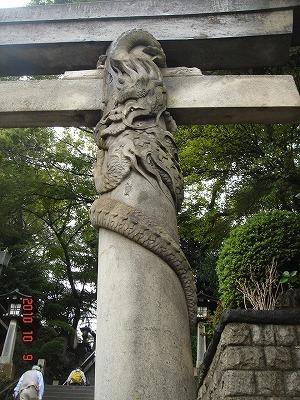 品川神社鳥居の右龍DSC02306.jpg